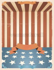 American Holidays background - Vectorsforall