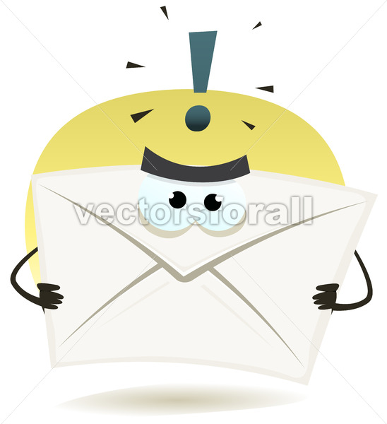 Angry Email Icon - Vectorsforall
