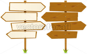 Arrows Wooden Sign - Benchart's Shop