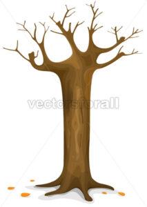 Autumn Tree - Vectorsforall