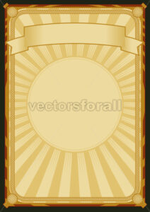 Background Elegant Retro Poster - Benchart's Shop