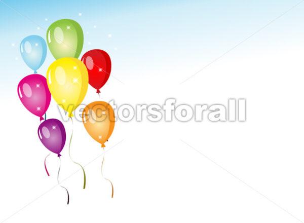 Balloons Party - Vectorsforall