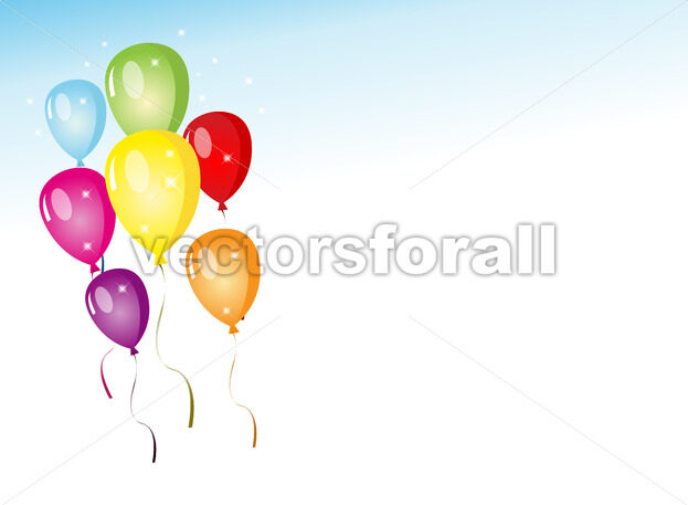 Balloons Party - Vectorsforall