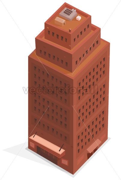Big Business Isometric Building - Benchart's Shop
