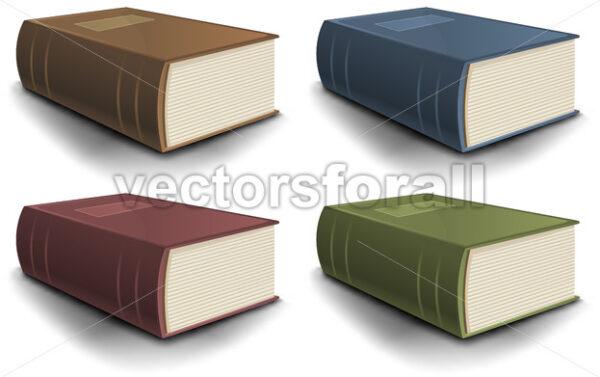 Big Old Book Collection - Vectorsforall
