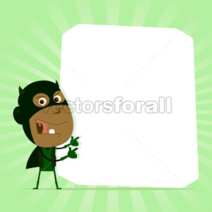 Black Kid Super Hero Sign - Benchart's Shop