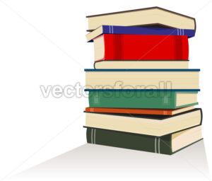 Books Pile - Benchart's Shop