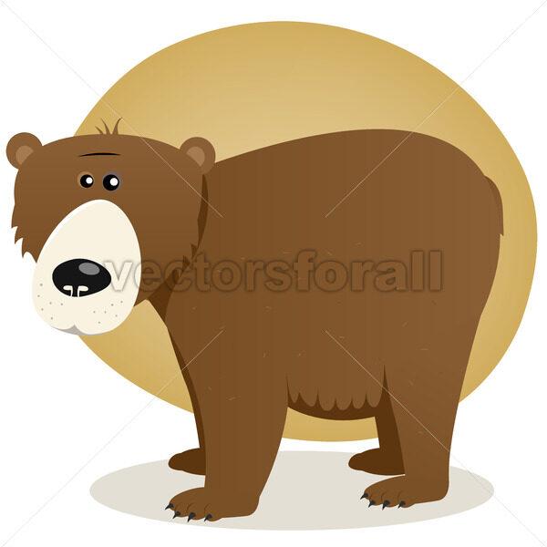 Brown Bear - Vectorsforall