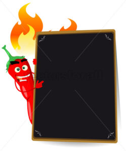 Cartoon Hot Spice Menu - Benchart's Shop