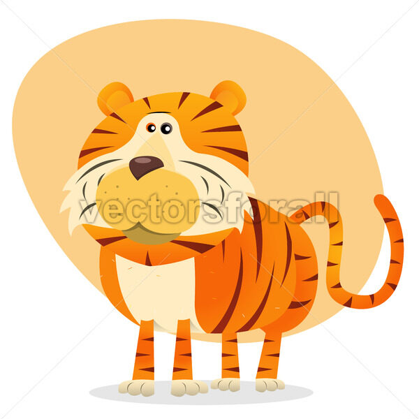 Cartoon Tiger - Benchart's Shop
