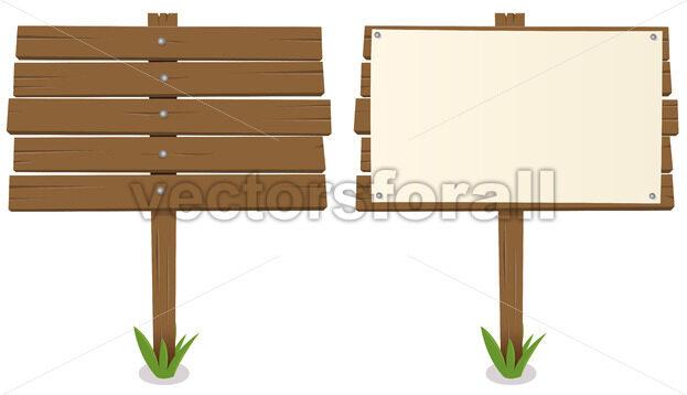 Cartoon Wood Board - Benchart's Shop