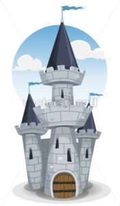 Castle Tower - Vectorsforall