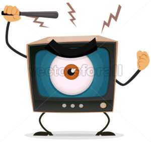 Censorship, Terror And Brainwash On TV - Vectorsforall