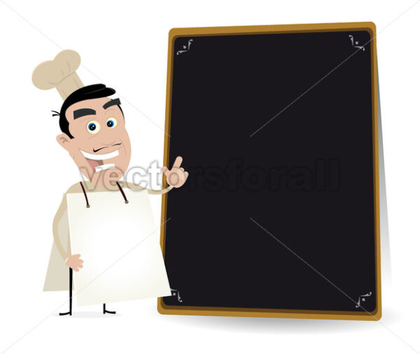 Chef Cook Sandwich Man - Vectorsforall