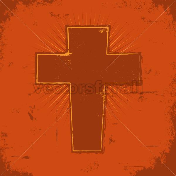 Christian Cross - Vectorsforall