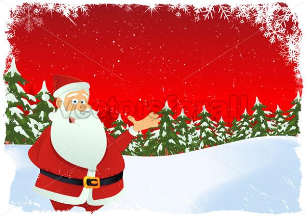 Christmas Card - Vectorsforall