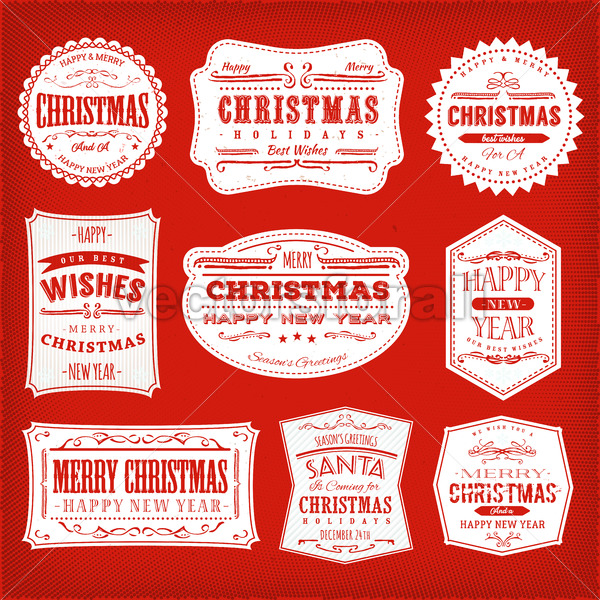 Vectorsforall royalty free vectors christmas frames banners and badges vectorsforall fandeluxe Image collections