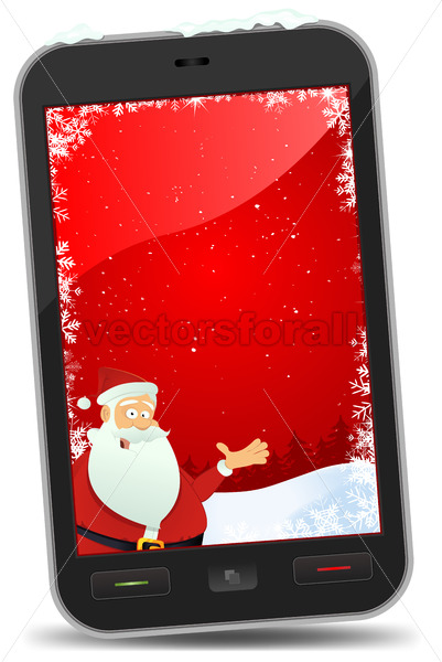 Christmas Smartphone Wallpaper - Benchart's Shop