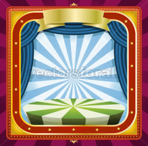 Circus Background - Vectorsforall