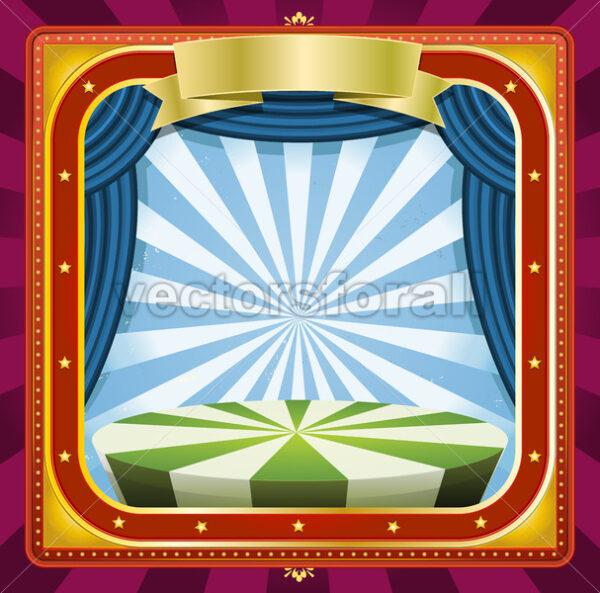 Circus Background - Vectorsforall
