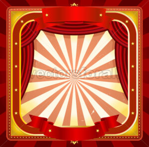 Circus Frame Poster Background - Benchart's Shop
