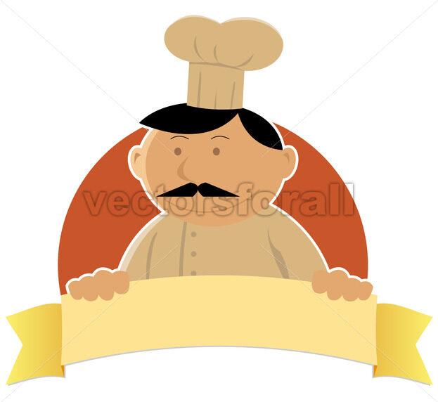 Cook Banner - Vectorsforall