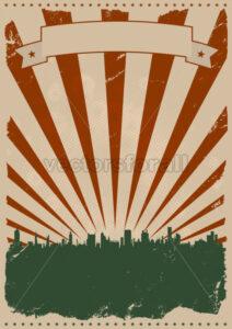Cool Vintage American Poster - Benchart's Shop