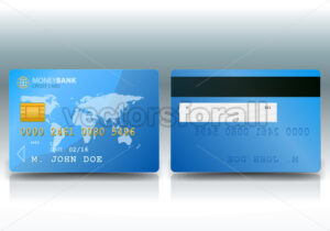 Credit Card Sample - Vectorsforall