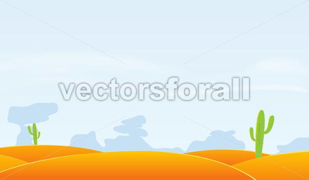 Desert Landscape Background - Benchart's Shop