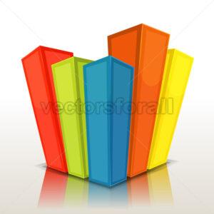 Design Columns And Stats Bars - Vectorsforall