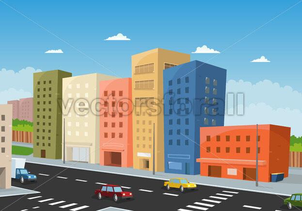 Driving Downtown - Benchart's Shop