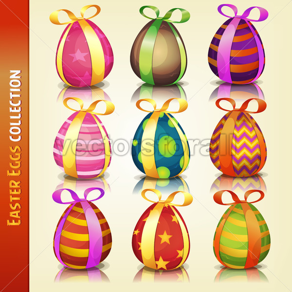 Easter Eggs Collection - Vectorsforall
