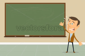 Express Yourself ! – Teacher Showing Blackboard Sign - Benchart's Shop