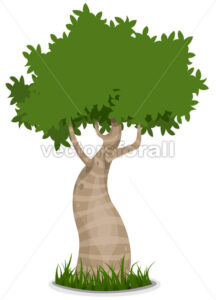 Fancy Tree - Vectorsforall