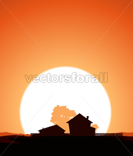 Farm In The Sunset - Benchart's Shop