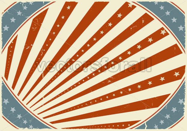 Fourth Of July Holidays Poster Background - Vectorsforall