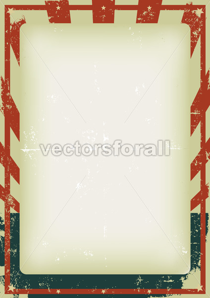 Fourth Of July Vintage Poster - Vectorsforall