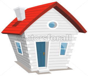Funny Little House - Vectorsforall