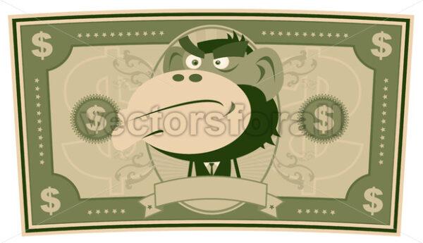 Funny Money – Cartoon US Dollar - Vectorsforall