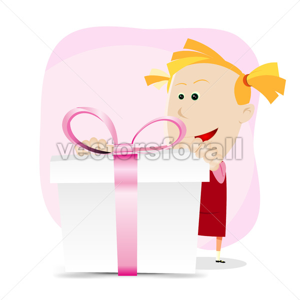 Girl Birthday - Vectorsforall