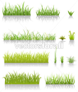 Green Grass Set - Benchart's Shop