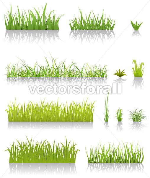 Green Grass Set - Benchart's Shop
