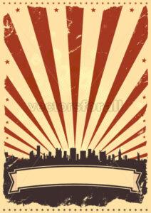 Grunge American Leaflet - Benchart's Shop