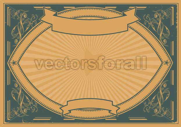 Grunge Horizontal Poster Background - Benchart's Shop