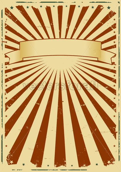 Grunge Sunbeams Background - Vectorsforall