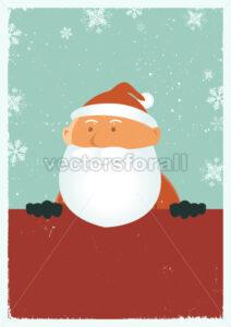 Grungy Santa Poster - Benchart's Shop