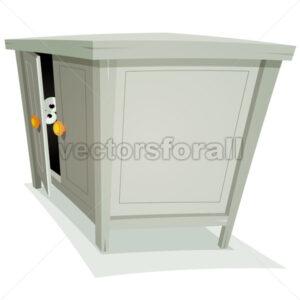 Guest Inside Furniture - Vectorsforall