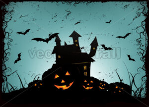 Halloween Frame Background - Vectorsforall