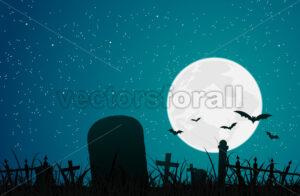 Halloween Graveyard - Benchart's Shop