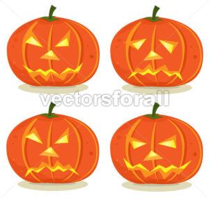 Halloween Pumpkins Set - Benchart's Shop